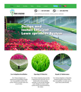 NEW VISIONS IRRIGATION INC.